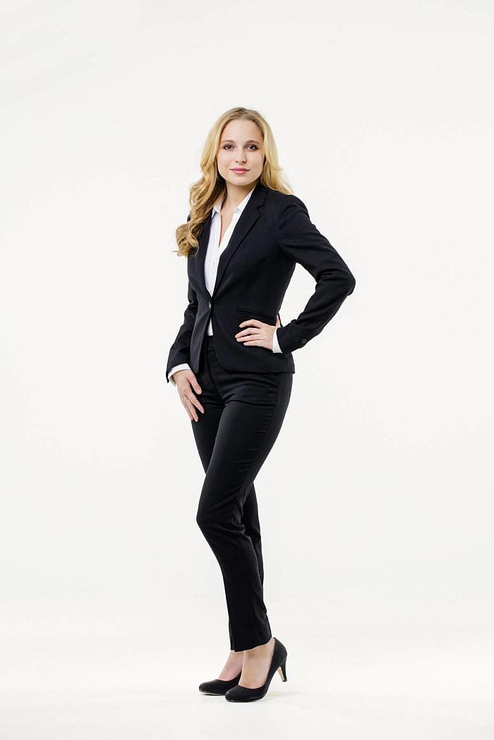 Mietkleidung Damen Businesskleidung Hostessenkleidung mieten leihen online Anzugshose Bluse Blazer